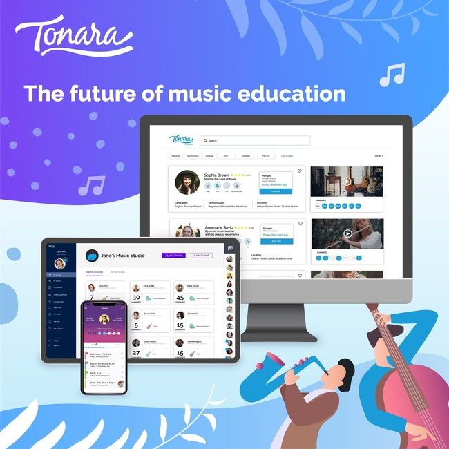 Popular music practice app now connects teachers with students from around the world