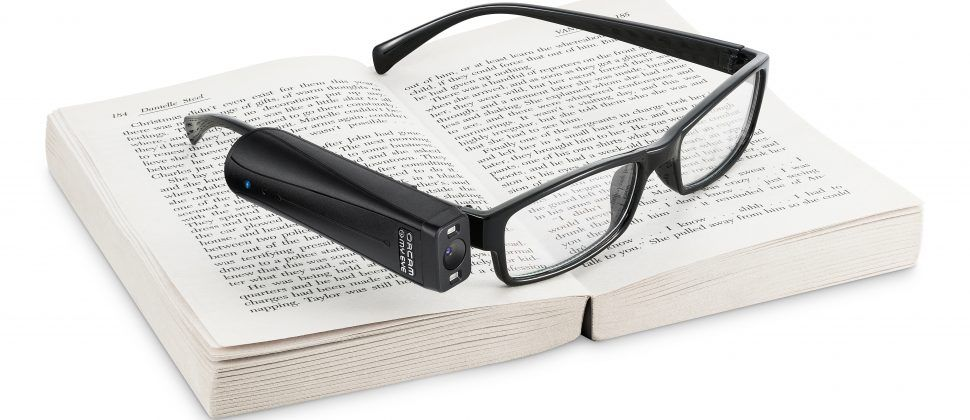 OrCam launches AI-powered voice-command allowing the blind to read